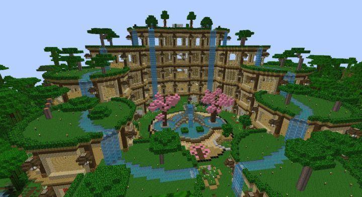 Great garden idea | Minecraft houses, Minecraft ...