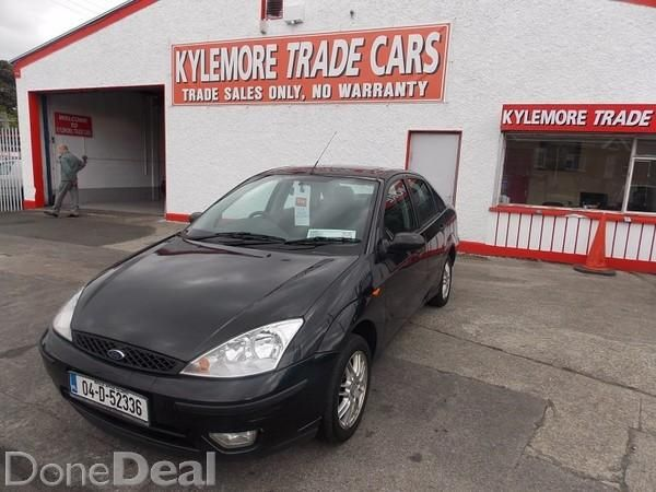 Ford Focus 1.4 NCT 06/1504 FORD FOCUS 4DR 1.4 NCT 06/15.VERY CLEAN THROUGHOUT AND GREAT TO DRIVE WITH ALLOYS,FRONT FOGS,SUN ROOF,REMOTE C/L,E/W,E/M AND CD PLAYERNO TXTS OR SWAPSFOR DIRECTIONS SEE MAP BELOW!!!!!!CALL JONATHAN 014600616 / 0873460807 04 (2004)Last updated: 23/07/2015#xtor=CS1-41-[share]