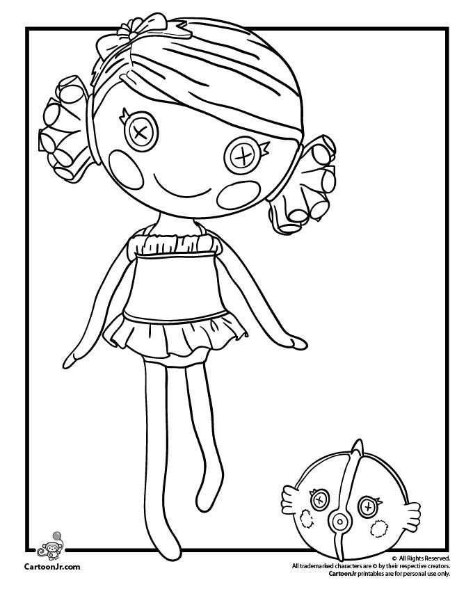 lalaloopsy coloring pages baby ducks - photo#48
