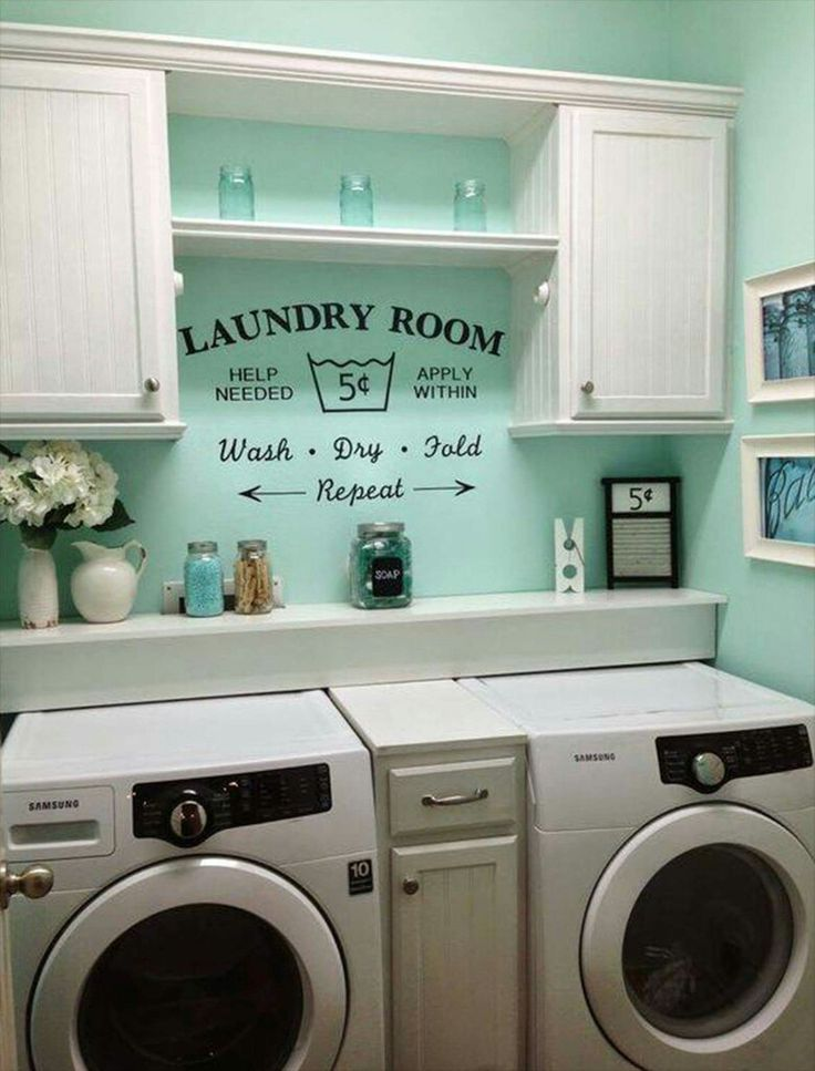 Love this idea for my laundry room!