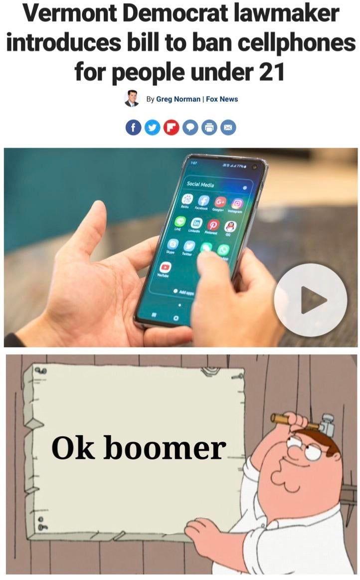 Ok Boomer Funny Gifs And Memes Animegifs Freshgifs Funnygifs Newgifs Topgifs Gif Funny Gif Spanglish Memes Crazy Funny Memes