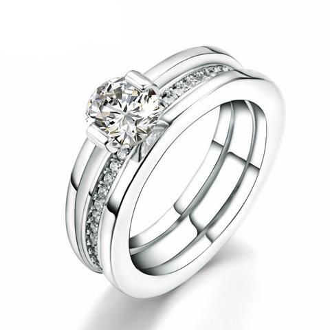 Two Peice Luxury Ring