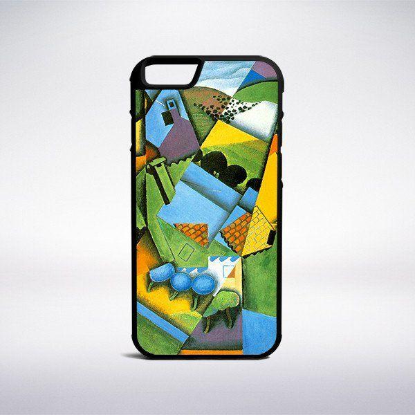 Juan Gris - Landscape With House At Ceret Phone Case – Muse Phone Cases