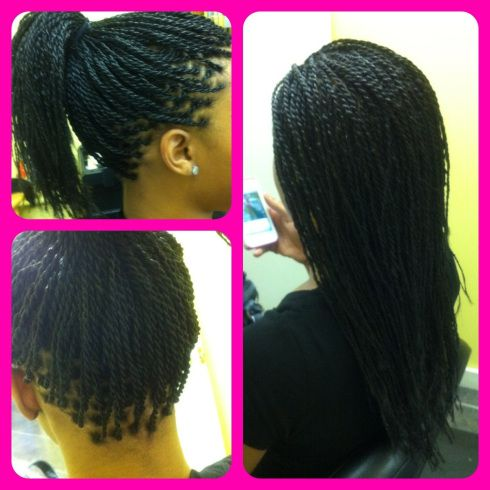 no knot senegalese twists