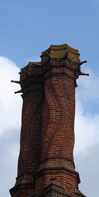 Sir Edwin Lutyens' design, Daneshill Brick & Tile Company 1905.