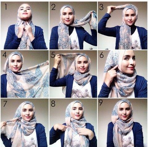 By. Zahratul Jannah #hijabtutorial #simplehijab #dailyhijab
