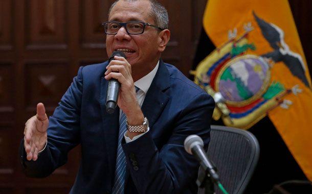 Fiscal Carlos Baca Mancheno pide prisión preventiva para Jorge Glas y su tío Ricardo Rivera