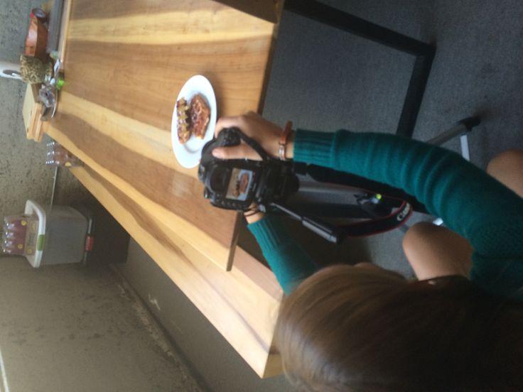 Waffle photo shoot