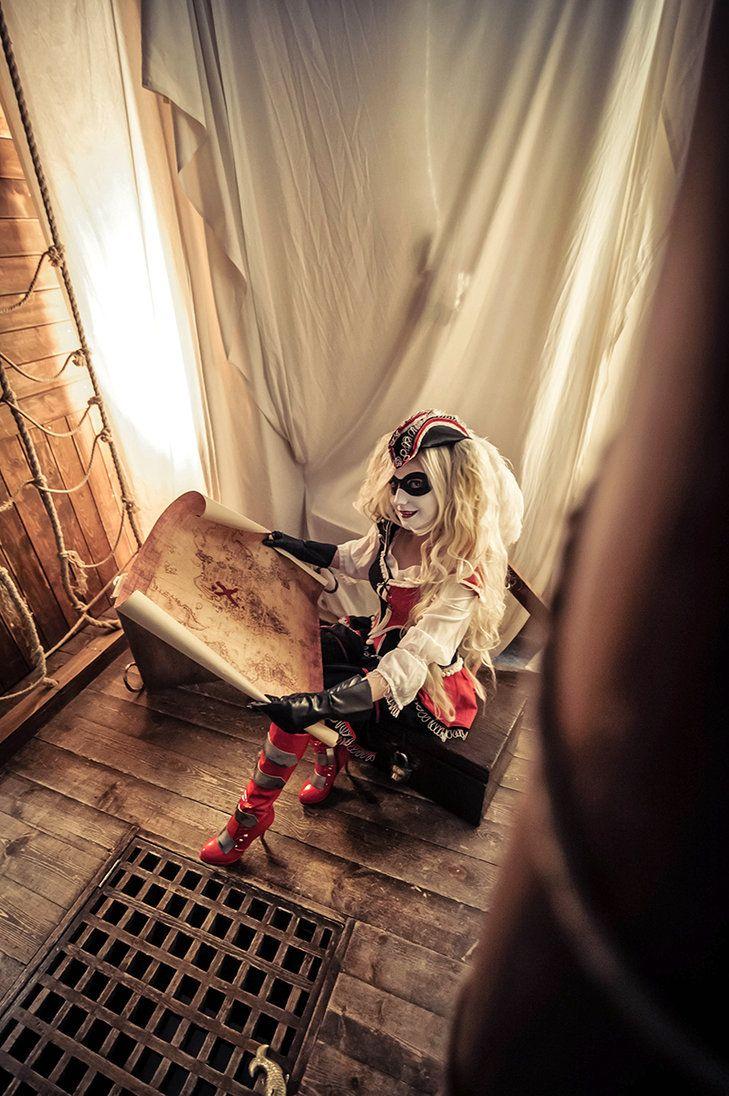 Pirate Harley by Lady-I-Hellsing