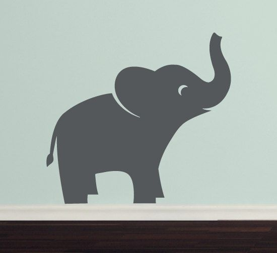 Best  Elephant Wall Decal Ideas On Pinterest Elephant - Nursery wall decals elephant