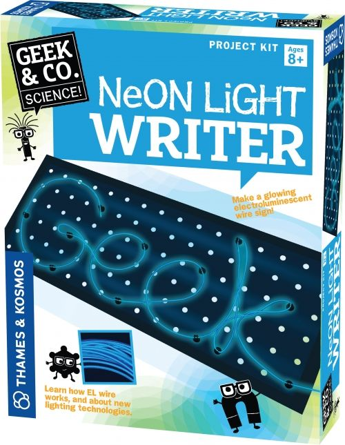 Thames and Kosmos Neon Light Writer :: For Our Facebook Fans :: Contests & Giveaways :: PARENTGUIDE News