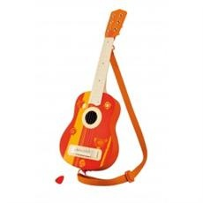 Sevi Acoustic Guitar (Unisex, Age 3+ Years): This professional-looking guitar with metal strings includes a plectrum and shoulder strap. Colouful enough for any gig!