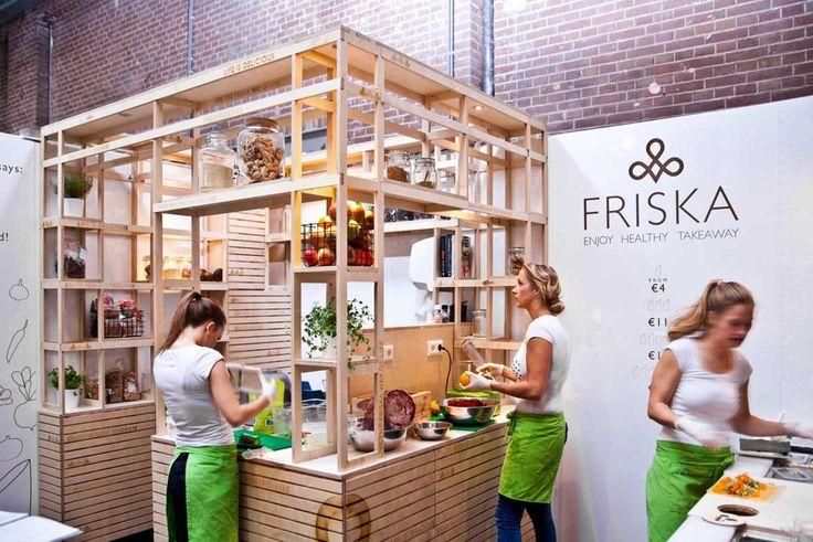 Friska Foodhallen Amsterdam by VanOmmeren Architects