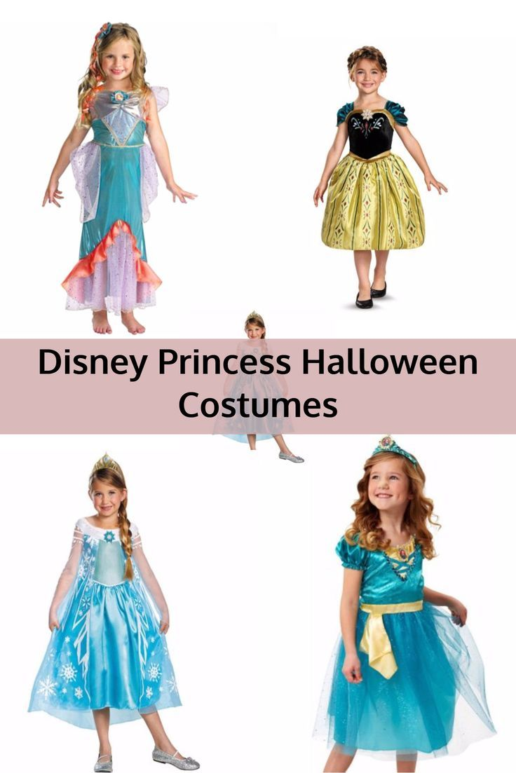 Disney Princess Halloween Costumes for Young Girls