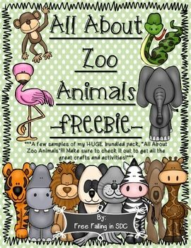"this is a free sample of my large bundled ""All About Zoo Animals"" pack that I recently posted. There are 13 different animals and over 250 pages of fun and interactive activities that will help your kiddos learn all about zoo animals. In addition, THE BUNDLED PACK IS OVER 50% OFF when compared to buying each animal separately (priced at $3.00 each)."