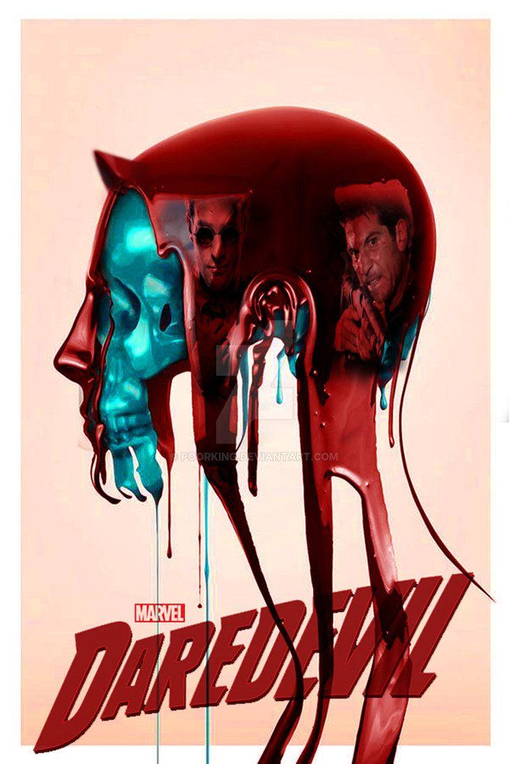 daredevil season 2 fan made poster by poorking on DeviantArt