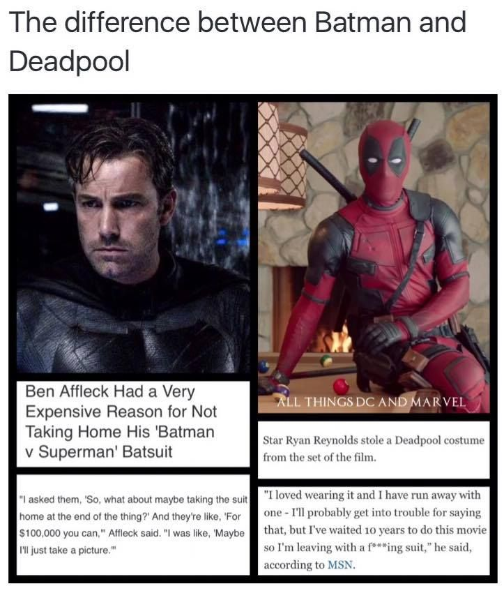 Ryan Reynolds is Wade Wilson