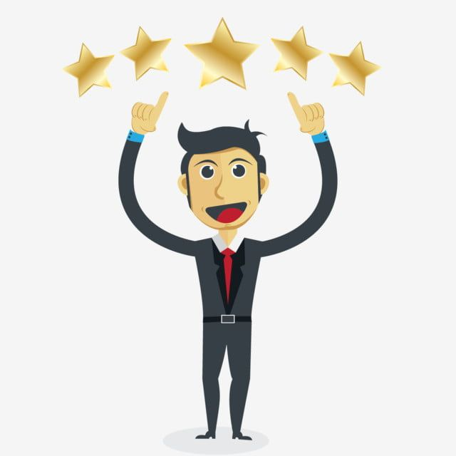 Cartoon Vector Gold Star Rating Experience Customer Review Png And Vector With Transparent Background For Free Download Cartoons Vector Cartoon Gold Stars