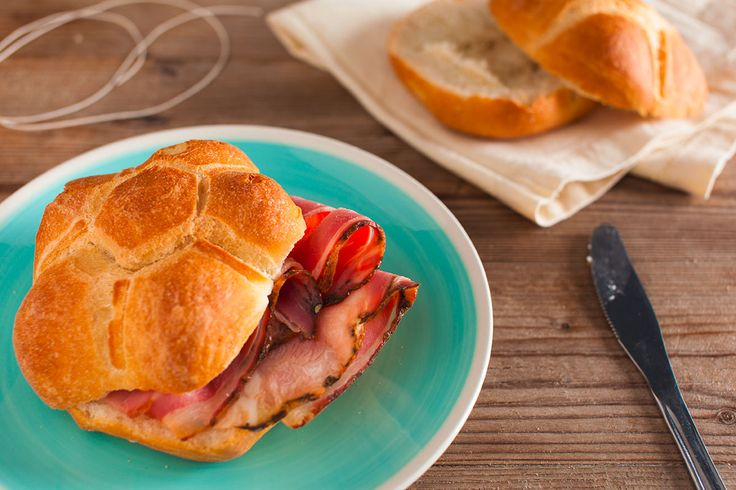 Rich and tasty cooked #ham, gently #grilled on the outside. Yum!