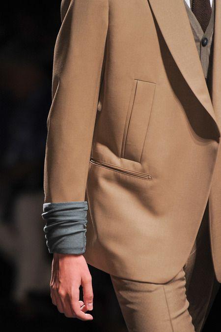 Ermenegildo Zegna Spring 2014 Menswear #welt #pocket