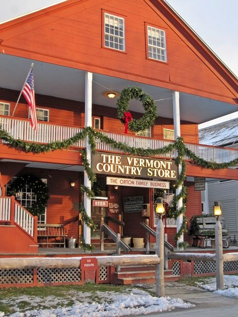 Finding Christmas Spirit in Vermont - Traveling through Ludlow and Woodstock Vermont with stops at Okemo and the Vermont Country Store.