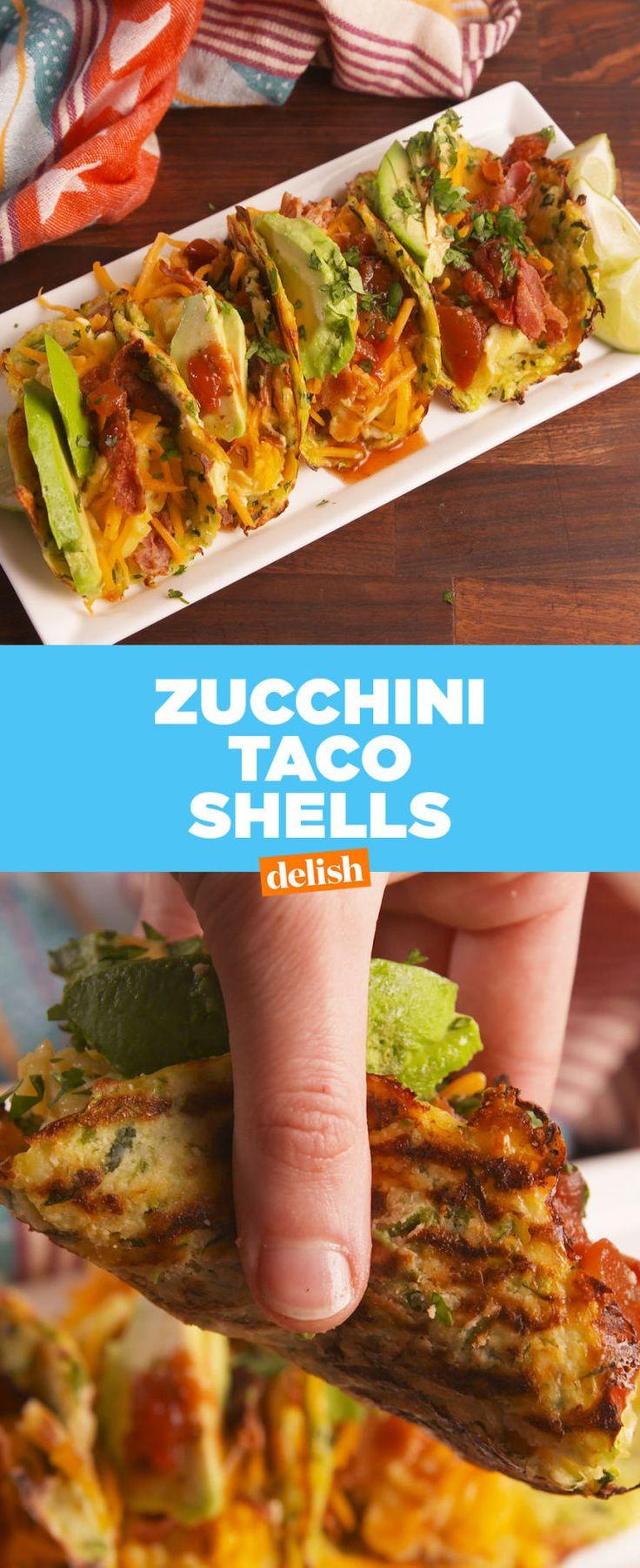 Zucchini Taco Shells Fix Your Healthy Diets Biggest Problem