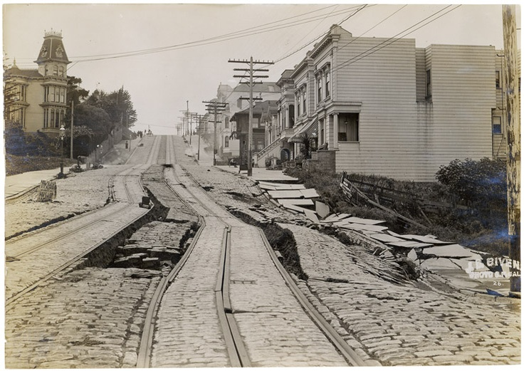 An analysis of the devastation of the 1906 earthquake in san francisco