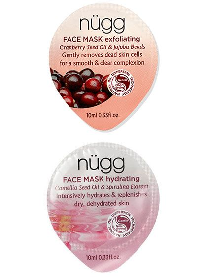 """For radiant skin fast: """"Do an exfoliating peel, followed immediately by a hydrating mask,"""" says dermatologist Francesca Fusco. Nügg's masks deliver both at a tenth of the usual price."""