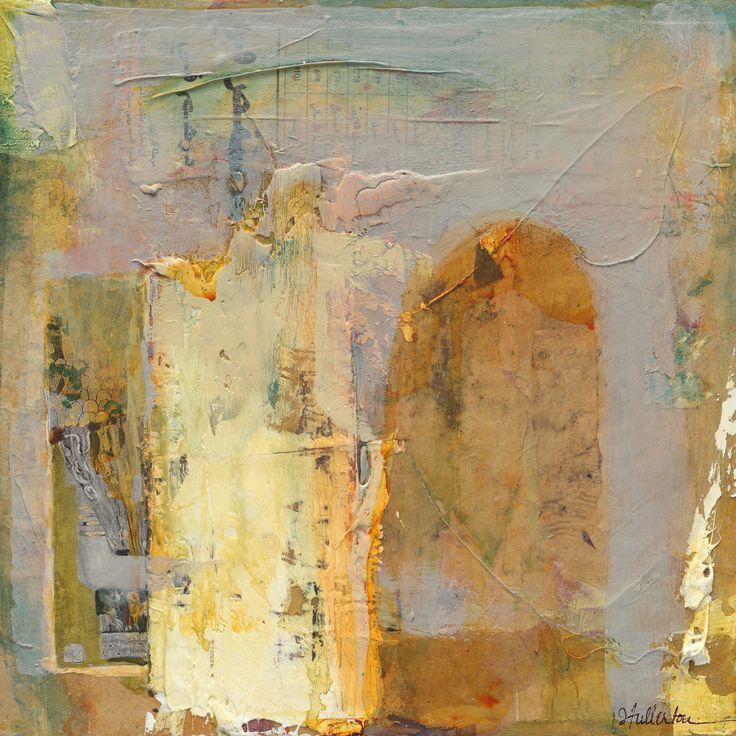 "Contemporary Mixed Media - ""Veiled Answers"" (Original Art from Joan Fullerton)"