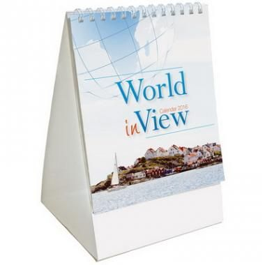 Desk and Wall 2016 Calendars World in View Mini Desk :: Diaries and Calendars :: Promo-Brand :: Promotional Branded Merchandise Promotional Products l Promotional Items l Corporate Branding l Promotional Branded Merchandise Promotional Branded Products