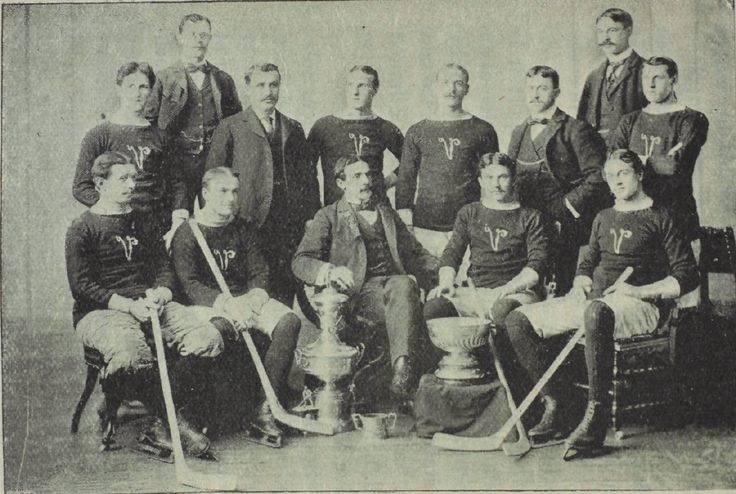 The Montreal Victorias won the Stanley Cup in 1895, 1897, 1898, and 1899.