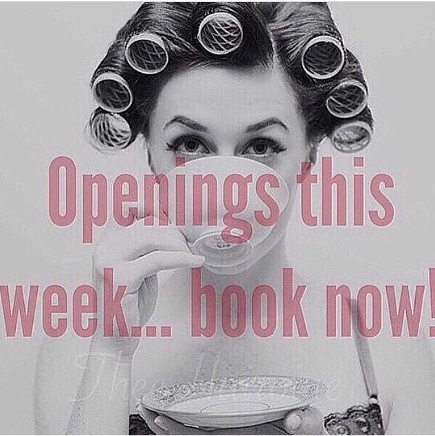 PM for info on booking your appointment