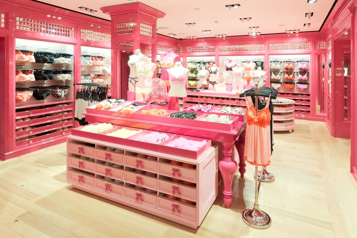 Victoria's Secret inspired closet For Girls Only