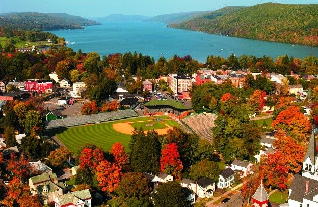 Cooperstown New York not only baseball A gracious, tree-lined village amid upstate New York's woodlands
