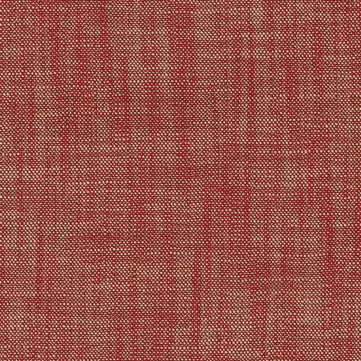 Warwick Fabrics : CLOVER, Colour ROUGE