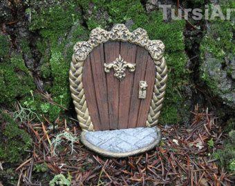 Gemaakt om FAIRY deur of Hobbit gat voor thuis of door TursiArt