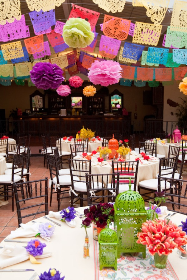 Mexican Theme-- I want to do my kitchen like a Mexican restaurant..wedding theme would be cute too. Fits our favorite place :)