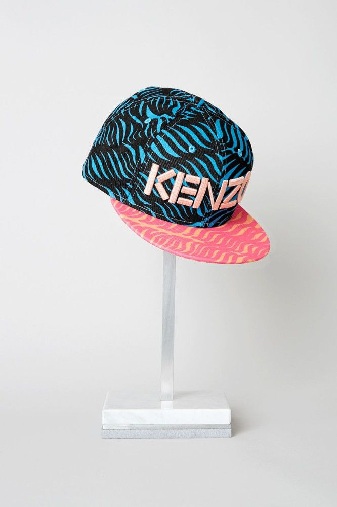 Kenzo cap 'New Era Waves. High-End Fashion, Luxury Fashion, Fashion Trends, Outfits, Designers, Latest Fashion Looks, Catwalk, Runway, Luxury Jewelry, Stylish Accessories, Style Blog, Fashion Blog, Fashion Week, Woman's Wear, Designer Clothing, Designer Bags, Haute Couture. http://whatiwouldbuy.com/TRAVEL+INSPIRATION+INTERIOR+DESIGN+FASHION+AND+FOOD