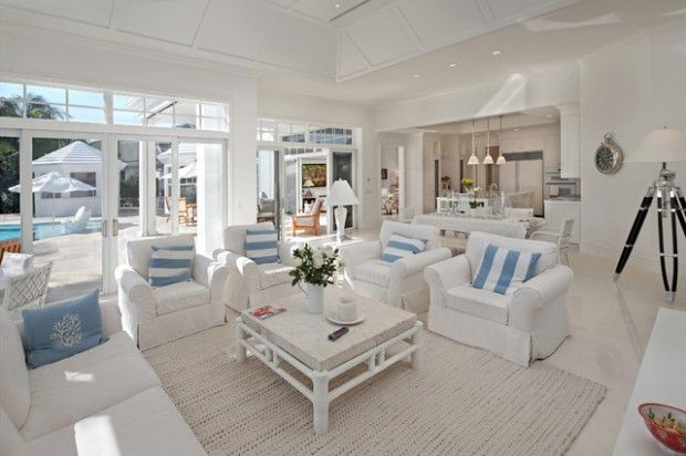 18 Beach Cottage Interior Design Concepts Inspired By The Sea | Pinkous