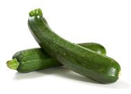 This makes me happy! Zucchini - The dietary fiber in zucchini helps lower cholesterol by attaching itself to bile acids that the liver makes from cholesterol for digesting fat. Because fiber binds so well with bile acid, thus crowding its ability to immediately digest fat, the liver is charged with producing more bile acid.