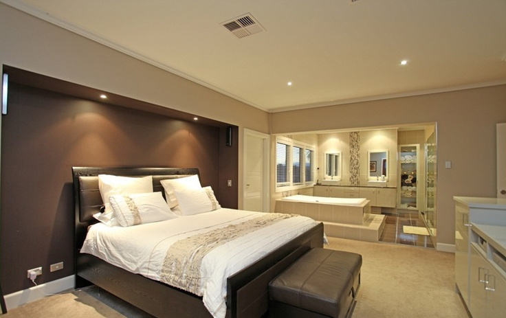 Have You Considered An Open Plan Design For Your Master Bedroom And Ensuite By Camelot Homes
