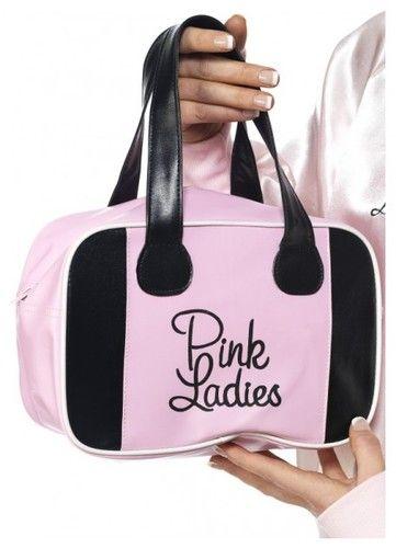 Pink Lady Bowling Bag, Pink, with Logo