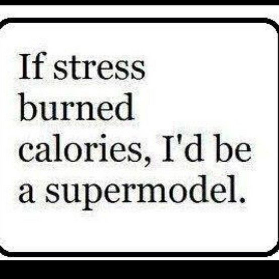 stress quote - Google Search.... Or anorexic. Depending on the amount of stress.