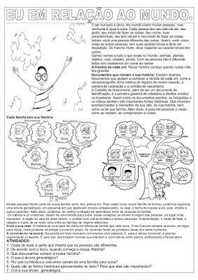 Atividades de Ensino Religioso Sobre - Valores humanos - Papo Ativo