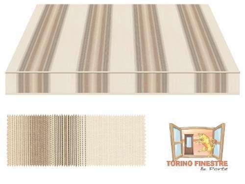 Tende da sole Tempotest Fantasia Marrone 5355/106