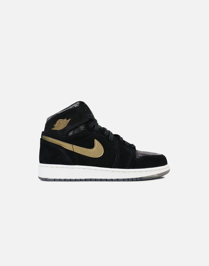 ae8723db66f2 ... Nike Air Jordan 1 Retro High Premium upgrades the original with a  canvas and a full