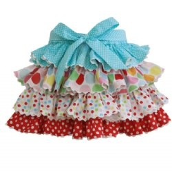 Oobi Baby   April ruffle skirt - multi coloured - hmmm I think I could figure out how to make this!!!