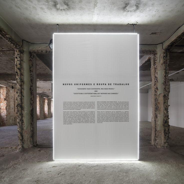 exhibitiondesignclub:  Felipe Oliveira Baptista at MUDE / Bureau Betaksource: londondesignjournal