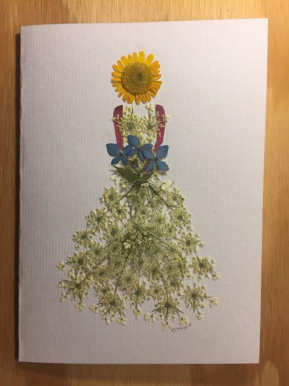 Поздравительные открытки из природного материала, днем
