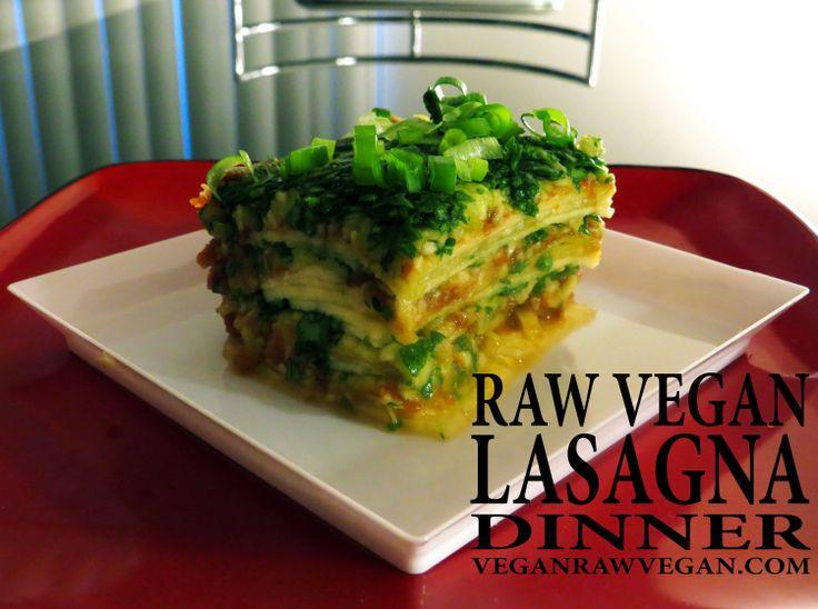 10 best vrvegan recipe videos images on pinterest recipe videos raw vegan lasagna yummy lasagna recipesraw food recipesrecipe videosvegan forumfinder Images